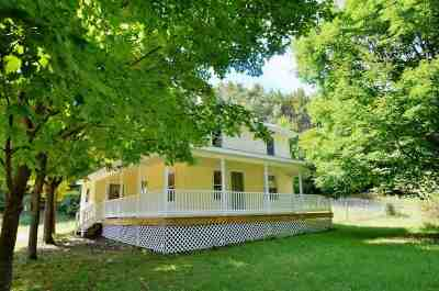 Petoskey Single Family Home For Sale: 6598 E Mitchell Road