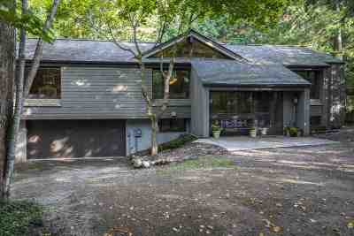 Harbor Springs Single Family Home For Sale: 2755 Harbor-Petoskey Road #Cottage