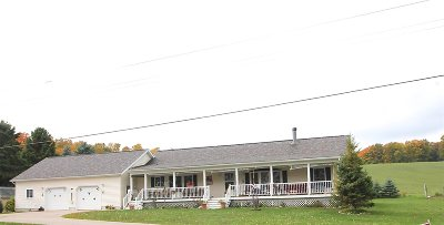 Petoskey MI Single Family Home For Sale: $257,500