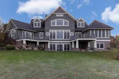 Petoskey MI Single Family Home For Sale: $1,399,000