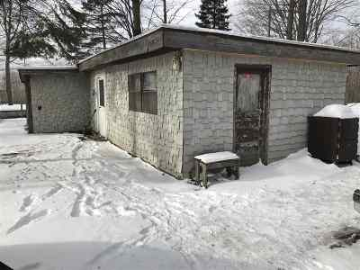 Wolverine MI Single Family Home For Sale: $69,900