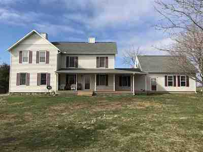 Single Family Home For Sale: 11840 Brown Road