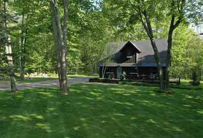 Harbor Springs Single Family Home For Sale: 7761 Pleasantview