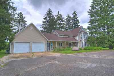 Single Family Home For Sale: 00893 E Dietz Road