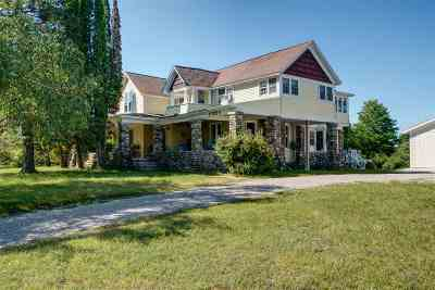 Charlevoix Single Family Home For Sale: 10300 Boyne City Road