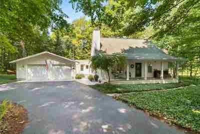 Petoskey MI Single Family Home For Sale: $469,000