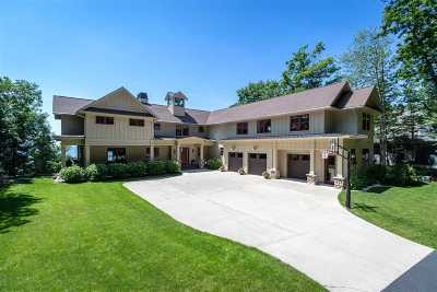 Harbor Springs Single Family Home For Sale: 5254 Lower Shore Drive