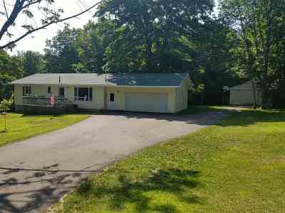 Charlevoix Single Family Home For Sale: 714 Parsons Road