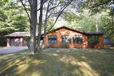 Boyne City Single Family Home For Sale: 801 Earl Street