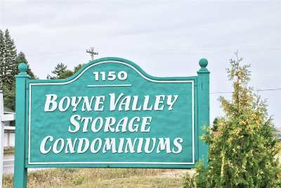 Charlevoix County Commercial For Sale: 00094 Boyne Valley Storage Condo