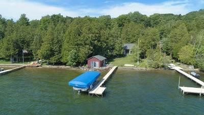 Boyne City Single Family Home For Sale: 03312 Springwater Beach Road