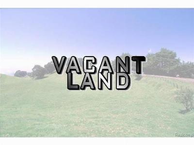 Belleville, Belleville-vanbure, Bellleville, Van Buren, Van Buren Twp, Van Buren Twp., Vanburen Residential Lots & Land For Sale: 7542 Belleville Road