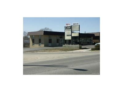 Oakland County Commercial For Sale: 4511 Highland Road