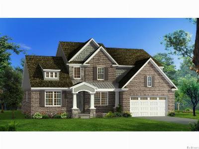 South Lyon Single Family Home For Sale: 238 Singh Boulevard