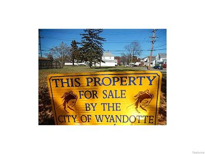Wyandotte Residential Lots & Land For Sale: 831 Antoine Street
