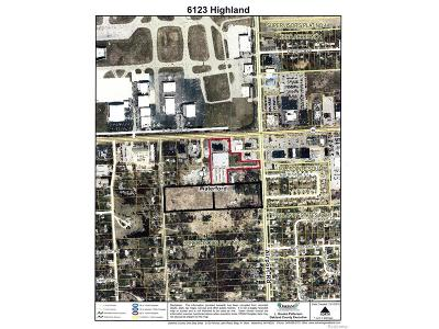Oakland County Commercial Lots & Land For Sale: 6123 Highland Road