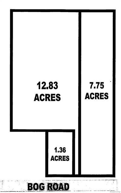 Belleville, Belleville-vanbure, Bellleville, Van Buren, Van Buren Twp, Van Buren Twp., Vanburen Residential Lots & Land For Sale: Vacant Bog Road
