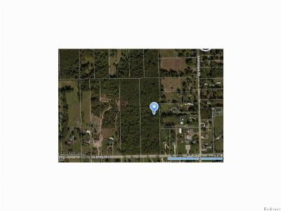 Huron Twp Residential Lots & Land For Sale: Sibley Road