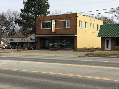 Commerce Twp Commercial For Sale: 2579 Union Lake Road
