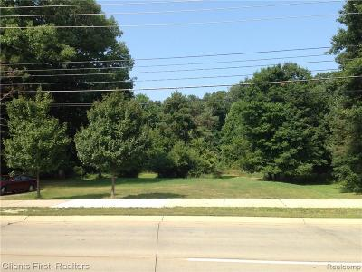 Farmington Hills Residential Lots & Land For Sale: 26655 Orchard Lake Rd