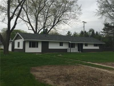 Independence Twp MI Single Family Home Sold: $200,000
