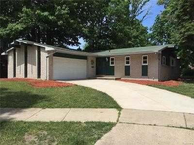 Riverview MI Single Family Home Sold: $147,200