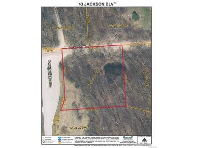 Residential Lots & Land For Sale: 043 Jackson Boulevard