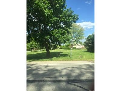 Belleville, Belleville-vanbure, Bellleville, Van Buren, Van Buren Twp, Van Buren Twp., Vanburen Residential Lots & Land For Sale: 6393 Denton Road