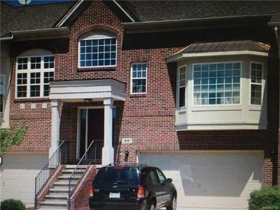 White Lake Condo/Townhouse For Sale: 5 Grandview Circle