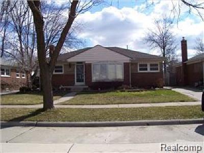 Trenton Single Family Home For Sale: 3325 Syckelmoore Street