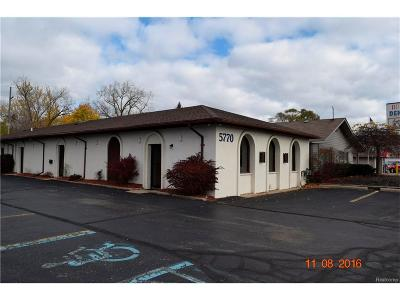 Oakland County Commercial For Sale: 5770 Highland Road