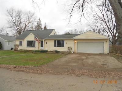 Highland Twp Single Family Home Sold: 2813 Motorists