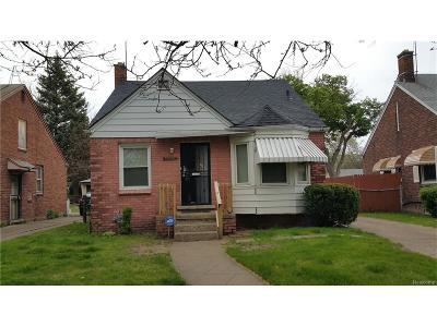 Detroit Single Family Home For Sale: 20210 Joann Street