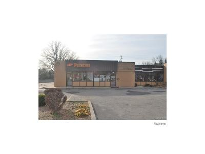 Livonia Commercial For Sale: 27811 5 Mile Road