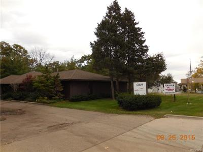Oakland County Commercial For Sale: 5850 Dixie Highway