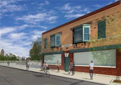 Detroit Condo/Townhouse For Sale: 445 E Milwaukee Street #2