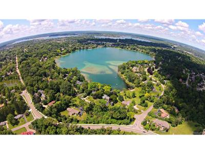 Bloomfield Twp Residential Lots & Land For Sale: E Hammond Lake