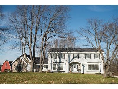 Livingston County Single Family Home For Sale: 2969 Oak Meadow