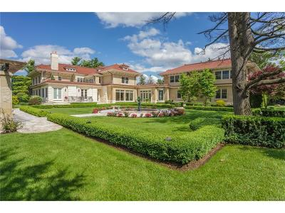 Bloomfield Hills Single Family Home For Sale: 860 Vaughan Road