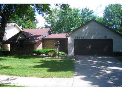 Single Family Home For Sale: 44196 Leeann Lane