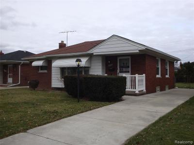 Eastpointe Single Family Home For Sale: 19075 Lister Avenue