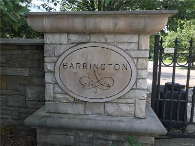 Bloomfield Hills Residential Lots & Land For Sale: 559 Barrington Park Dr