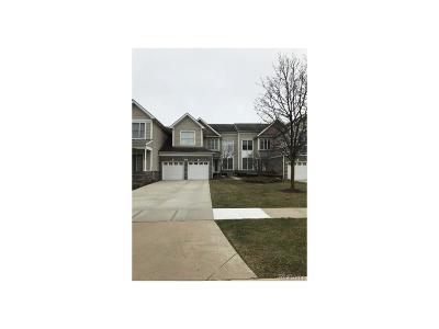 Novi Condo/Townhouse For Sale: 25950 Island Lake Drive