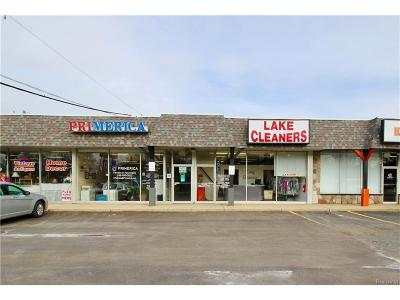 Waterford Twp Commercial Lease For Lease: 7932 Cooley Lake Road