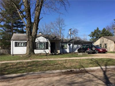 Taylor Single Family Home For Sale: 5850 Daniels Street