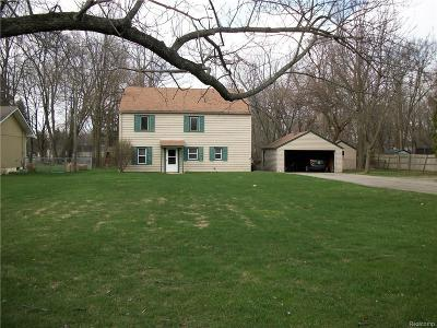 Waterford, Waterford Twp Single Family Home For Sale: 6270 Barker