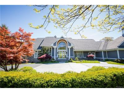 West Bloomfield Twp Single Family Home For Sale: 2943 Warner Drive
