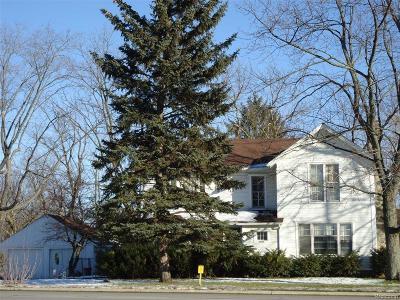Livonia Single Family Home For Sale: 19380 Newburgh Road