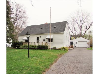 Salem, Salem Twp, Plymouth, Plymouth Twp Single Family Home For Sale: 11850 N Haggerty Road
