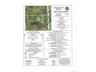 Livingston County Residential Lots & Land For Sale: 019 Pinckney